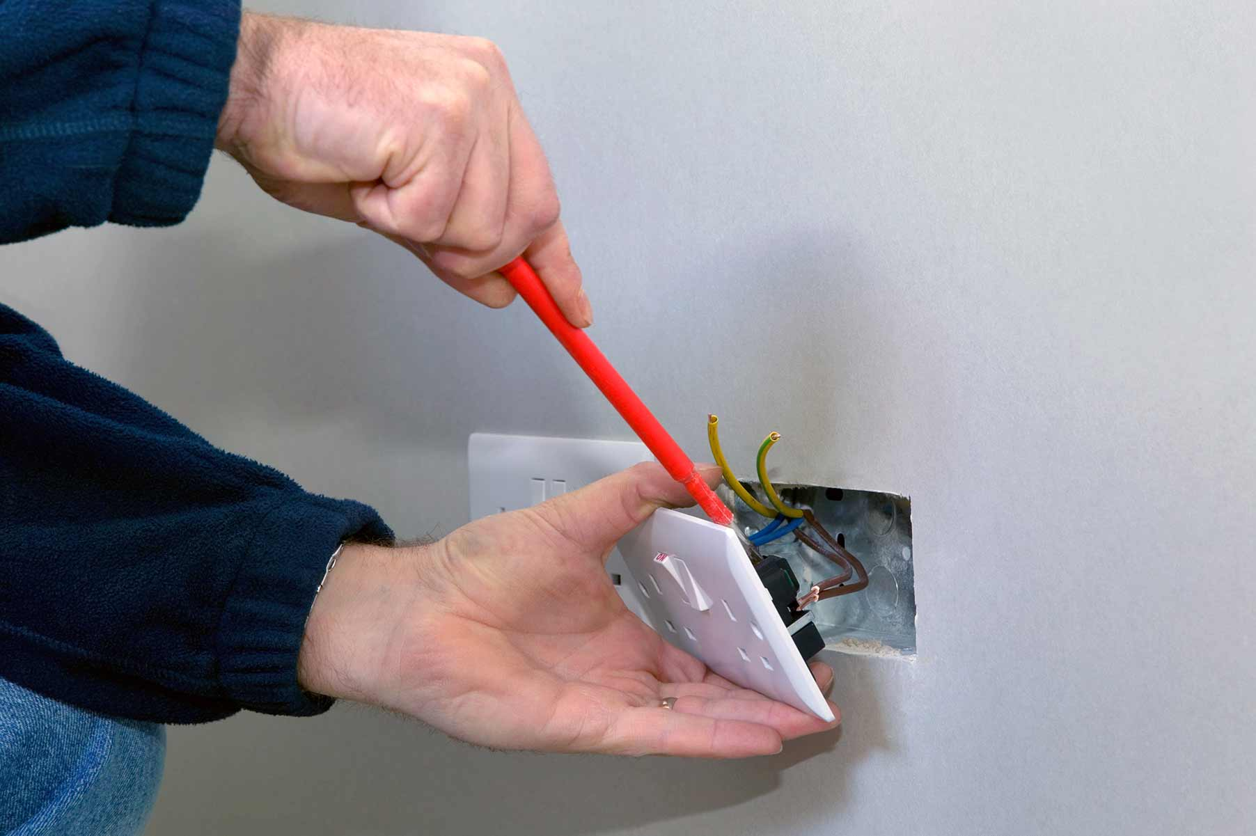 Our electricians can install plug sockets for domestic and commercial proeprties in Shenfield and the local area.